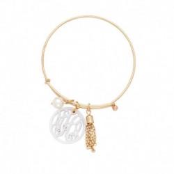 Ava Acrylic Bangle Bracelet