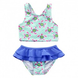 Kid's Printed Swimsuit Set