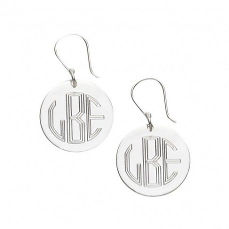 Silver French Wire Earrings (Greek)