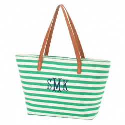 Stripe Charlotte Purse (Greek)