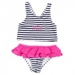 Kid's Printed Swimsuit Set (Greek)