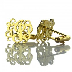 Wedding Initial Cufflinks