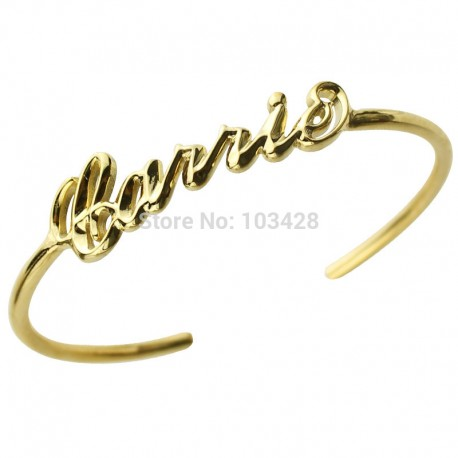 3D Carrie Style Name Bracelet