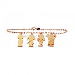 Initials Bracelet Children Style