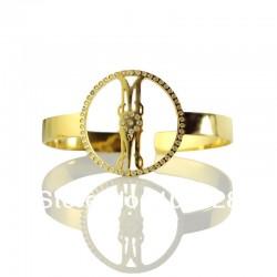 BirthStone Monogrammed Bracelet