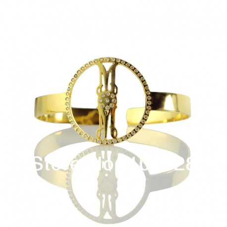 BirhStone Monogrammed Bracelet