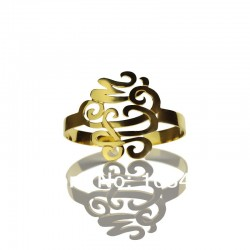 Stereoscopic Monogram Bracelet