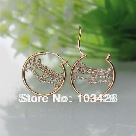 Name with BirthStone Earrings