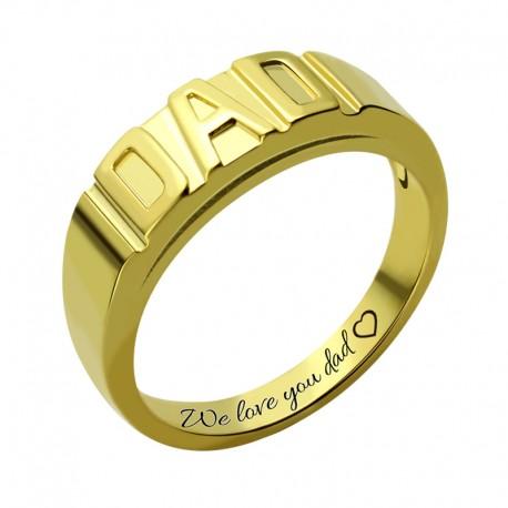 Handmade Dad Ring