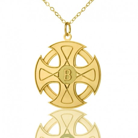 The Sun Cross Necklace