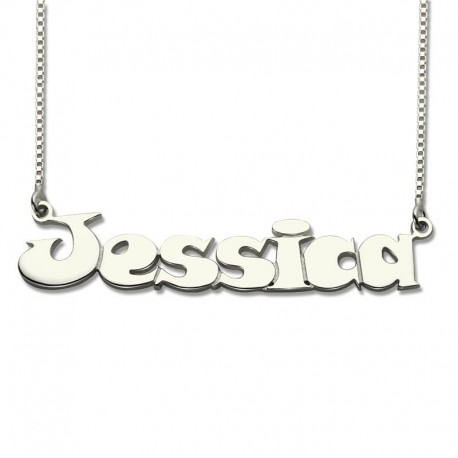 Comic Style Name Necklace