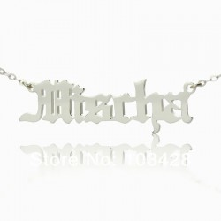 Mischa Barton Style Name Necklace
