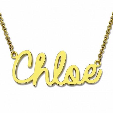 Handmade Cursive Name Necklace