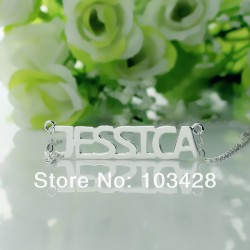 Jessica Style Font Necklace