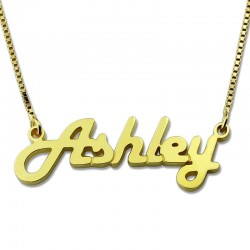 Retro Stylish Name Necklace