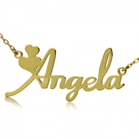 Angela Style Name Necklace