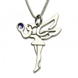 Birthstone Fairy Necklace