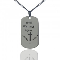 Until We Meet Again Remembrance Necklace