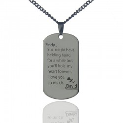 Write You A Love Letter Necklace