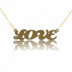 Couples font Name Necklace