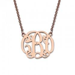 Handmade Celebrity Monogram Necklace