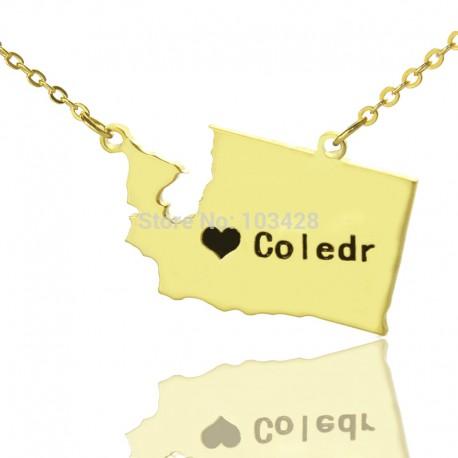 State of Washington Necklace