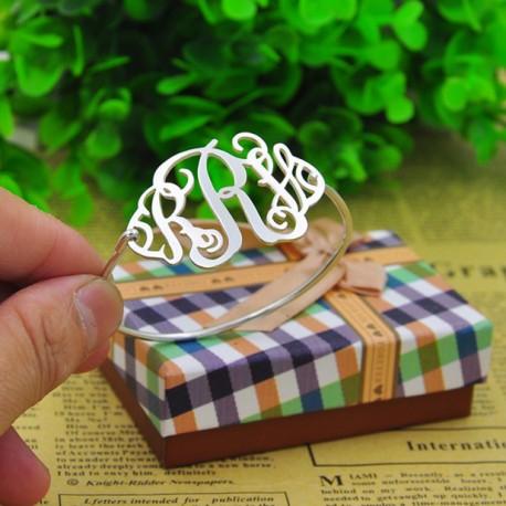 Handmade Monogram Name Bracelet