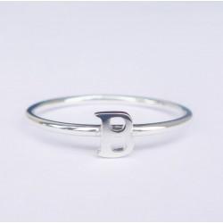 Capital Letter Ring