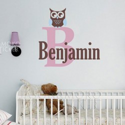Owl Wall Decal Sticker