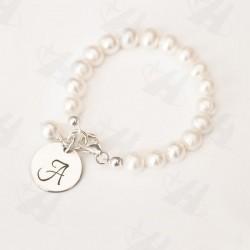 Elastic Pearl Bead Bracelet