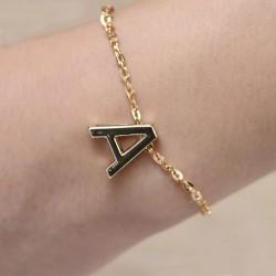 Letters Bracelet Initial Charm