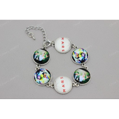 30 Seconds To Mars Band Photos Inspired Bracelet
