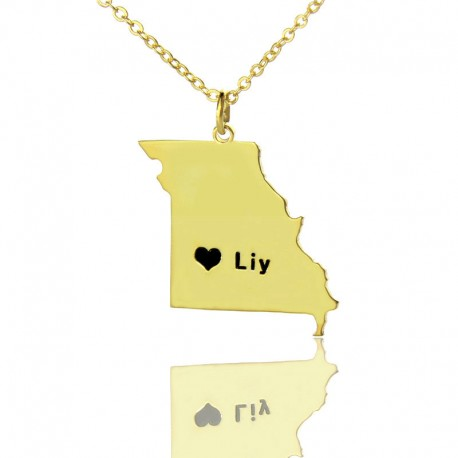 Missouri State Necklace