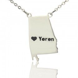 Alabama State Necklace