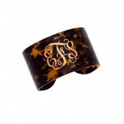 Tortoise cuff bracelet